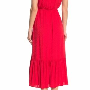 SUPERFOXX Dresses - Tiered bottom button front midi dress